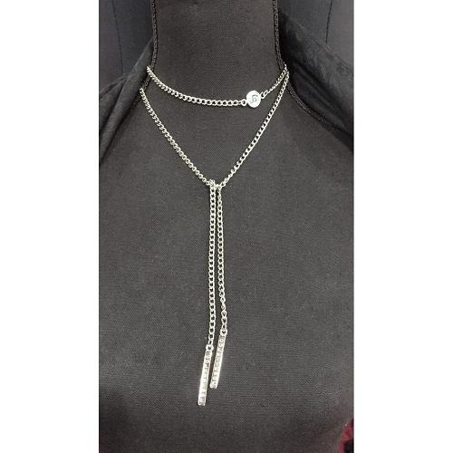 cs necklace silver