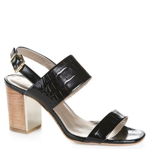gemma sandaal zwart