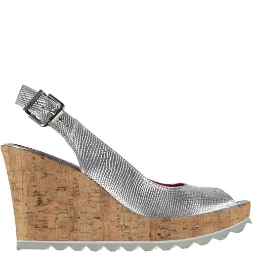 pearl wedge silver