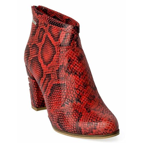 ellen ankle city snake red