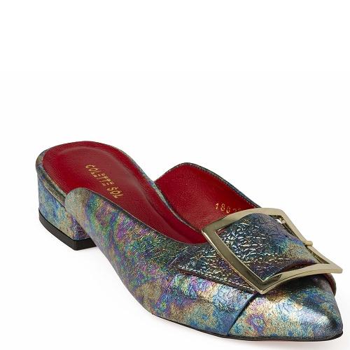deniz flat shoe multicolor