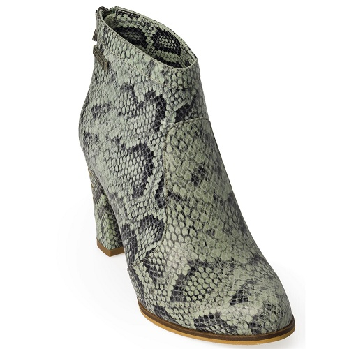 ellen ankle city snake green