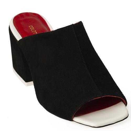 joo yon slip on shoe black