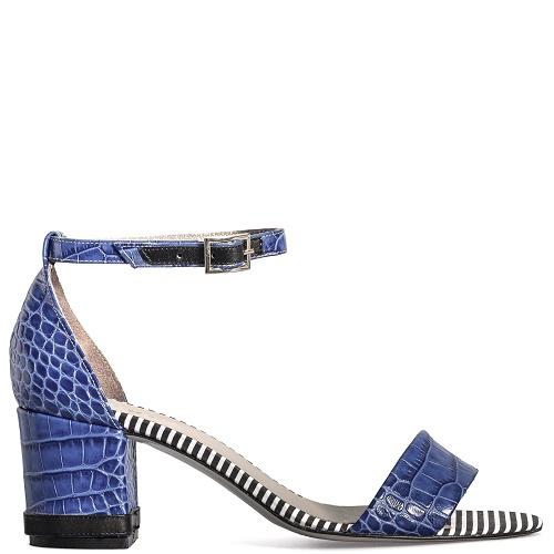 kaapstad sandaal blauw