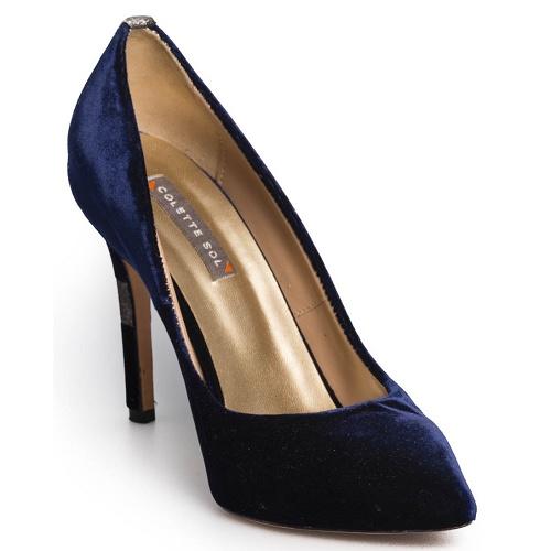conscious pump high blue velvet