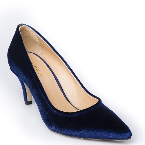 conscious pump low blue velvet